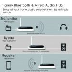 Oasis - Long Range Bluetooth Transmitter Receiver for TV & PC