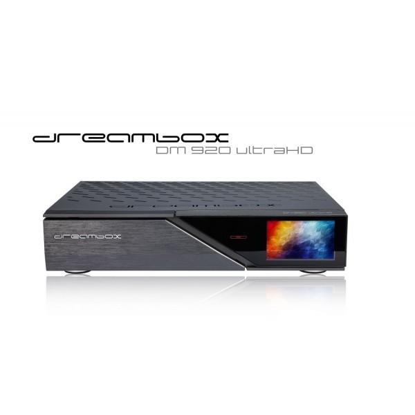 DM920 UHD 4K DUAL DVBS2X MS