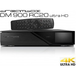 DM900 RC20 DUAL DVBS2 FBC