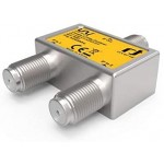 inverto Unicable 2-way splitter, 5-2400 MHz